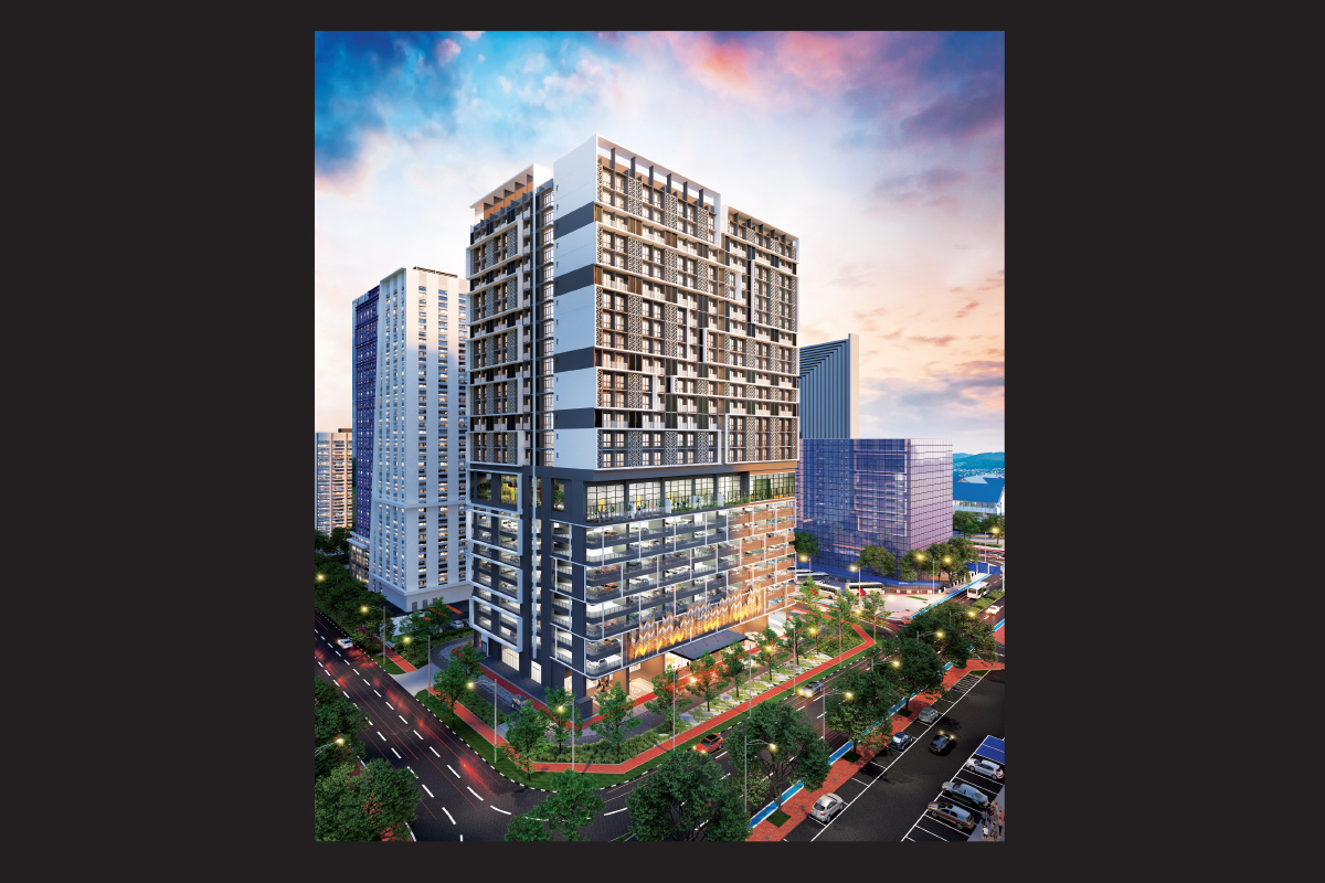 The leasehold Alinea has a total gross development value of RM165 million (Photo by EH Group)