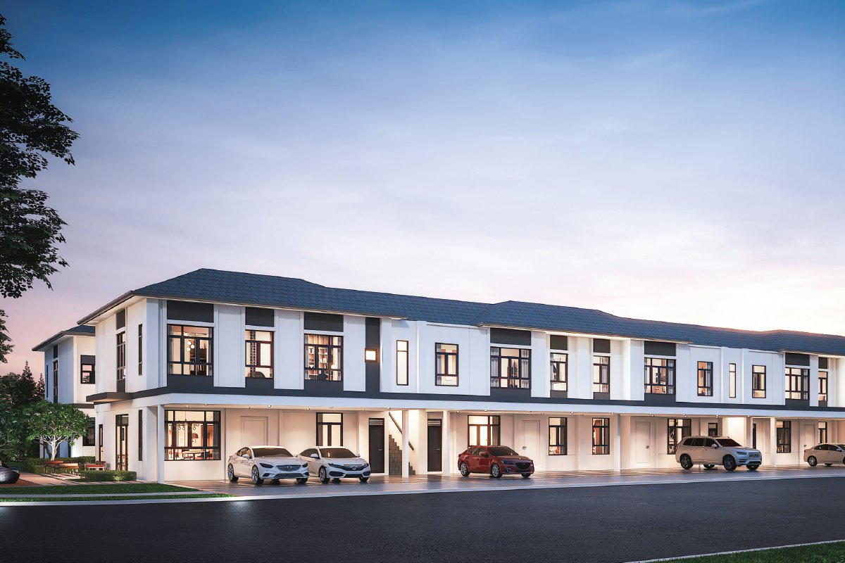 An artist's impression of the Co-Home units at Regent Garden in Eco Grandeur (Photo by EcoWorld)