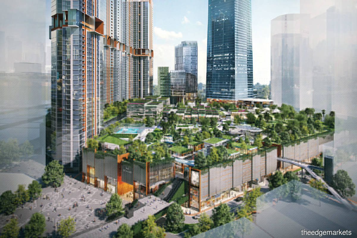 The Exchange TRX forms part of the freehold 70-acre master plan of TRX, which has an estimated GDV of RM40 billion and will comprise a total of 30 buildings (Photo by Lendlease)