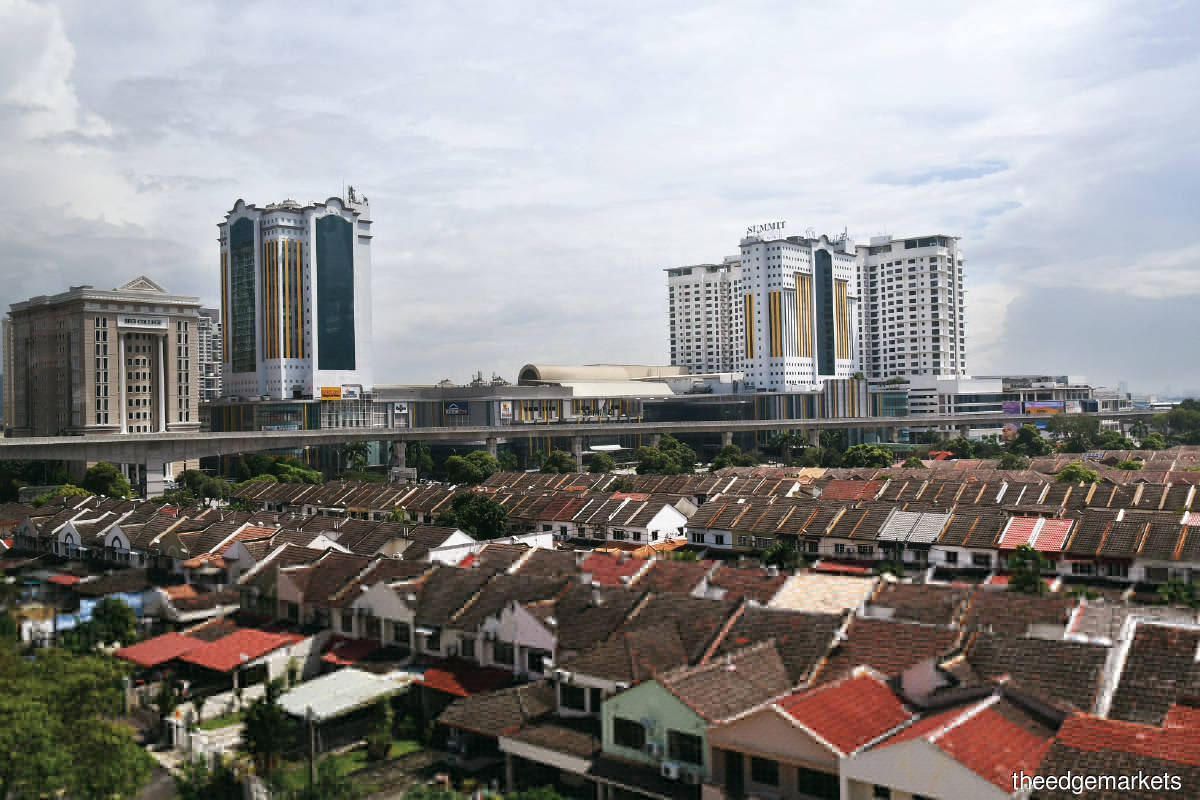 Subang Jaya's popularity will increase further once it becomes a city (Photo by Sam Fong/The Edge)