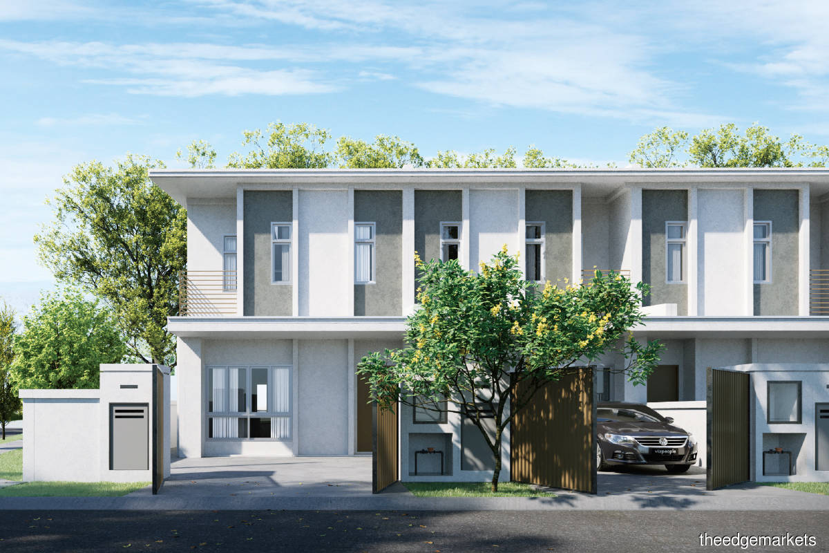 Phase 1 of Myra Gardens will comprise 96 terraced houses with built-ups of 1,654 sq ft (Photo by OIB)