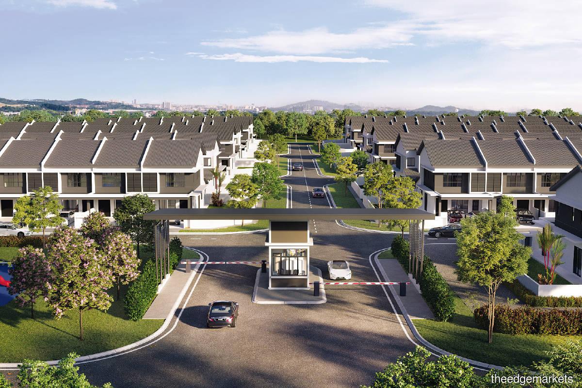Rimbun Jasmine comprises 129 two-storey link houses with a GDV of RM72.2 million (Picture by IJM Land)