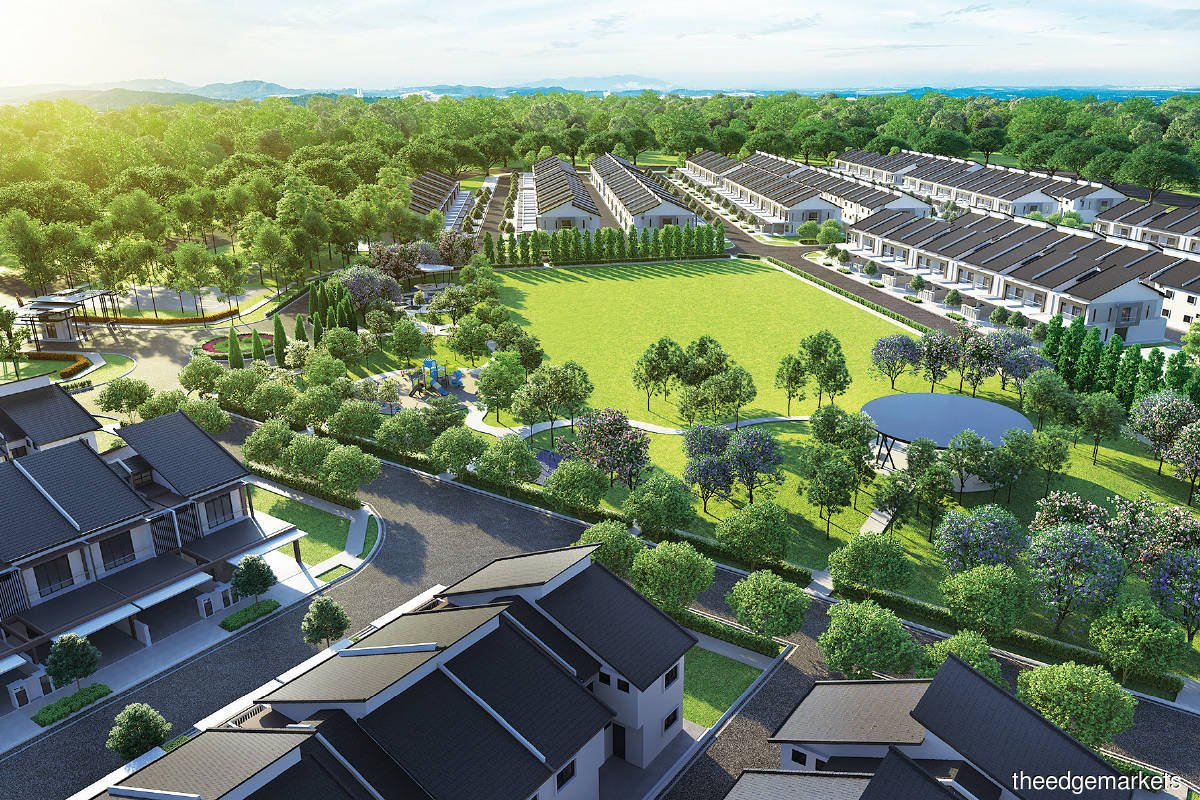 Rimbun Impian has a GDV of RM167 million (Photo by IJM Land)