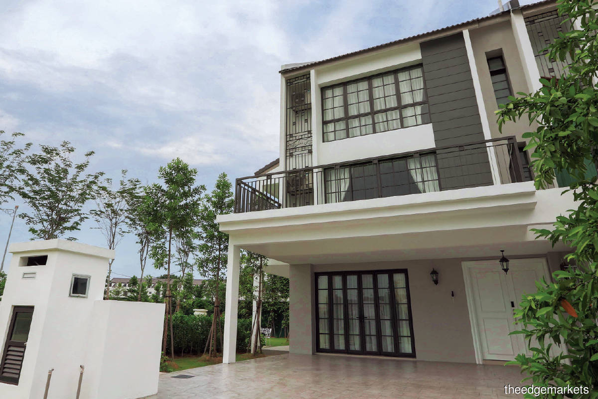 The single-key villas will have built-ups of 3,449 to 3,970 sq ft (Photo by Sunsuria)
