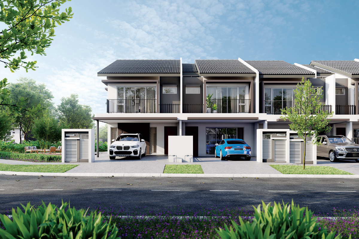 Verna has a GDV of RM47.3 million and comprises 72 two-storey terraced homes (Photo by UEM Sunrise)
