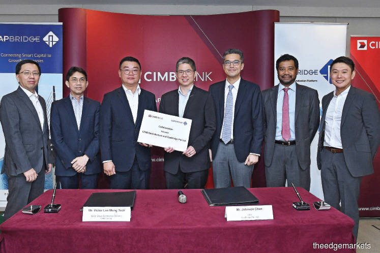 CIMB partners CapBridge to offer access to private capital