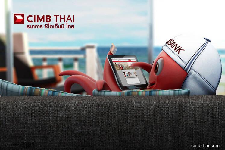 CIMB Thai 1Q net profit rises 39.3% to 168.9 mil baht