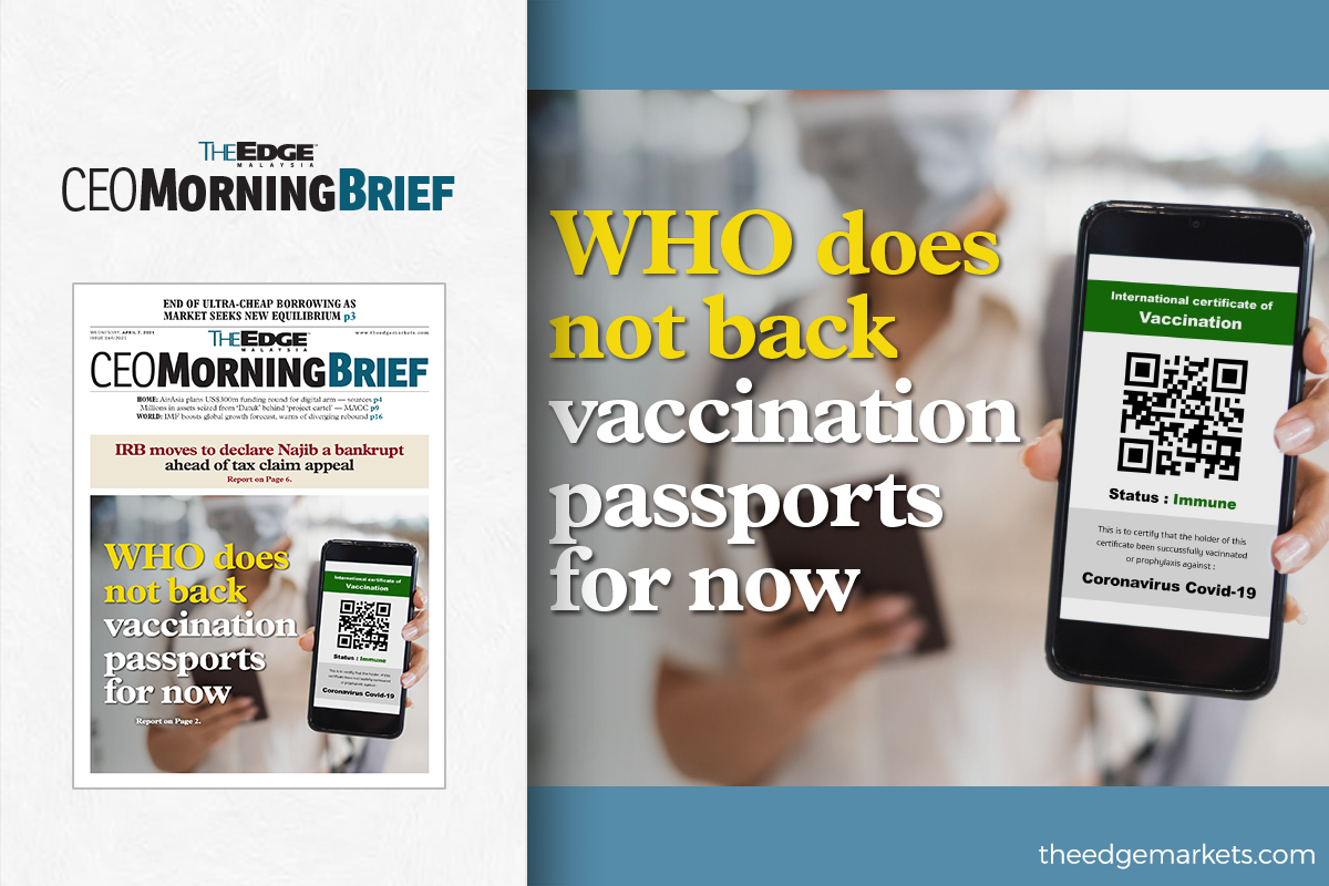 WHO does not back vaccination passports for now — spokeswoman