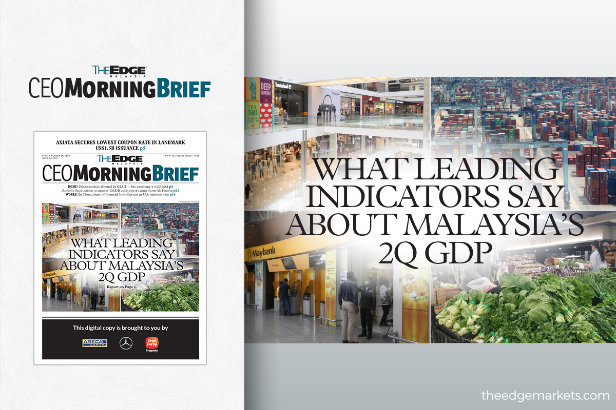 What leading indicators say about Malaysia's 2Q GDP