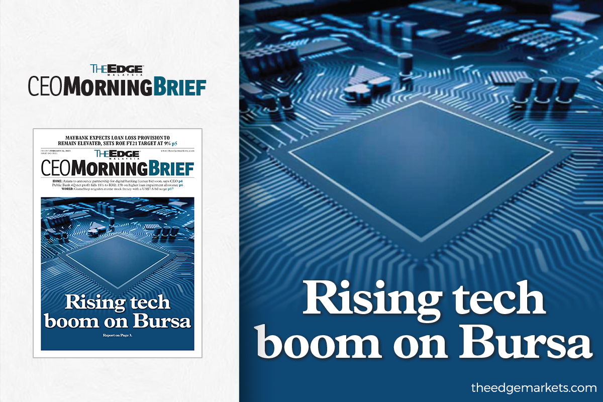 Rising tech boom on Bursa