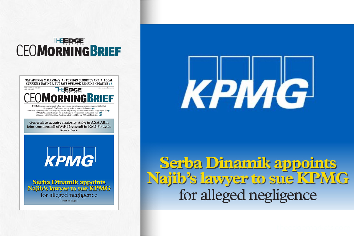 Serba Dinamik to take legal action against external auditor KPMG for alleged negligence