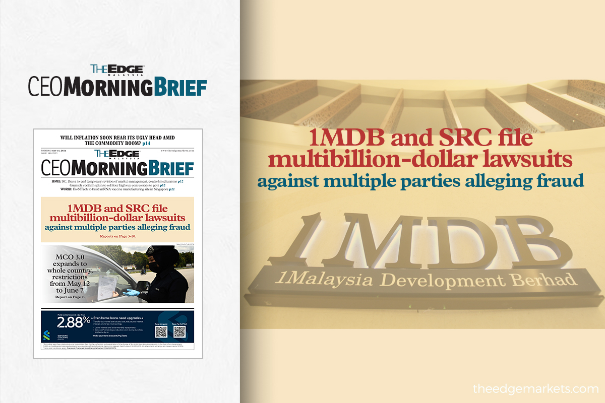 1MDB and SRC file multibillion-dollar civil suits against those alleged to be responsible for fraud