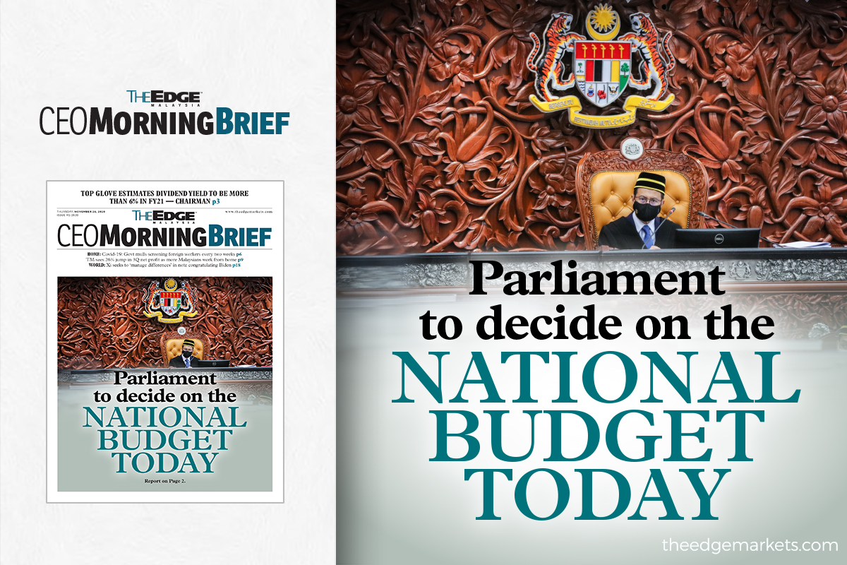 Parliament to decide on the National Budget today