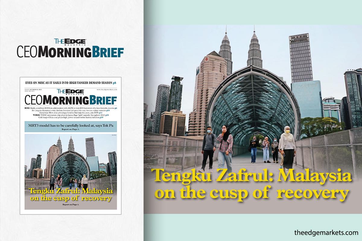 Tengku Zafrul: Malaysia on the cusp of recovery