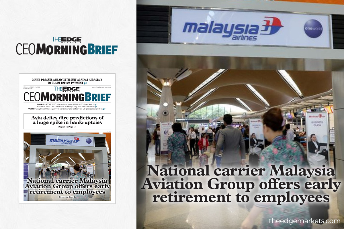 National carrier Malaysia Aviation Group offers early retirement to employees