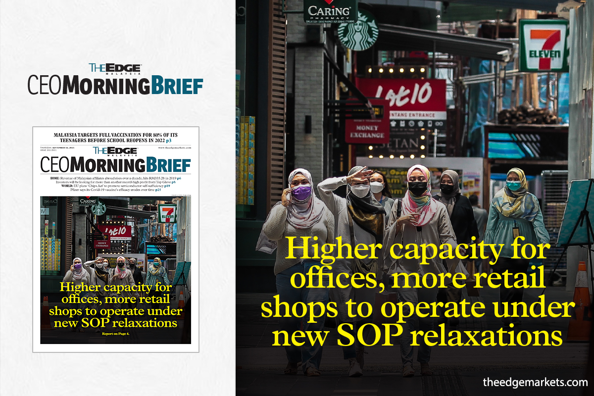 Higher capacity for offices, more retail shops to operate under new SOP relaxations