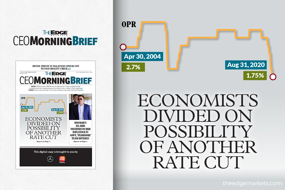 Economists divided on possibility of another rate cut