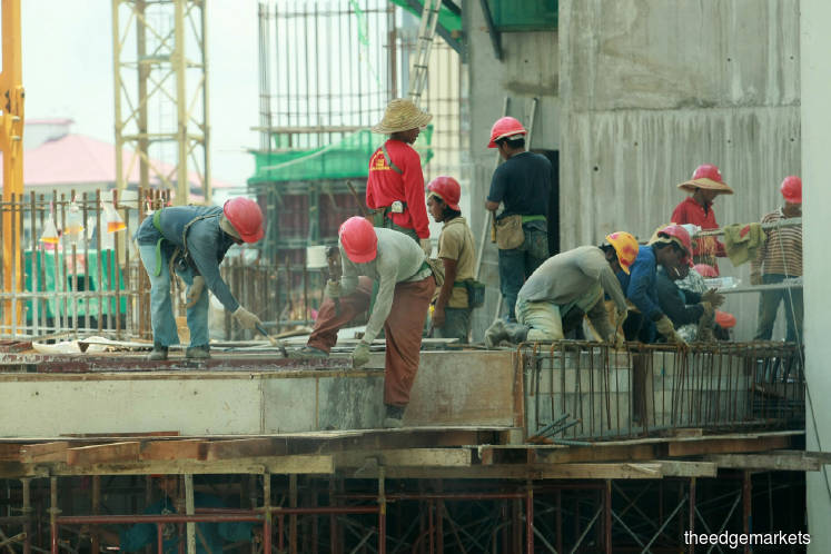Construction sector's valuation nears boom-cycle level
