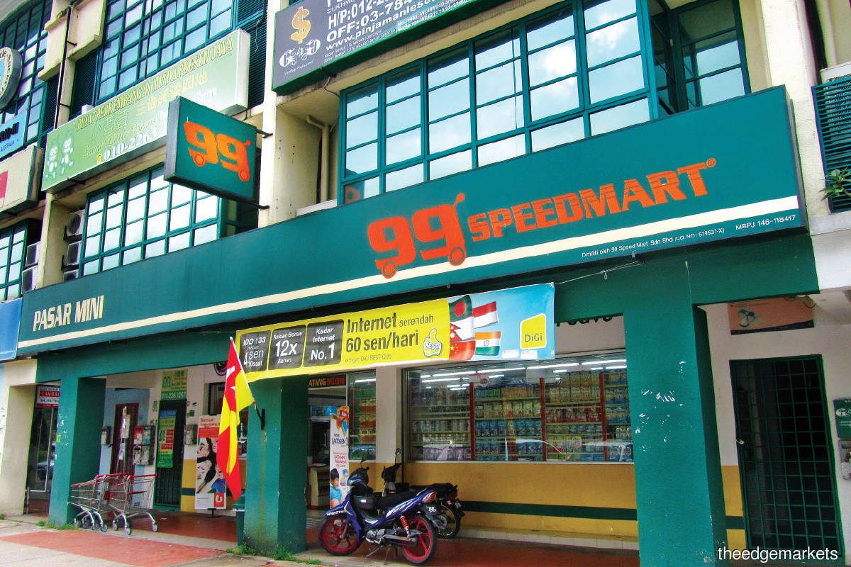 99 Speedmart experienced its biggest jump in sales and net profit last year (Photo by Chu Juck Seng/The Edge)