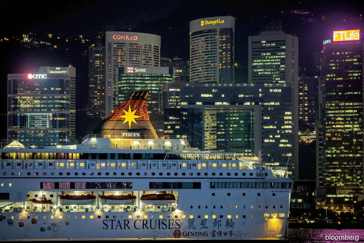 Like all other cruise operators, Genting's cruise business is still experiencing substantial cash outflow