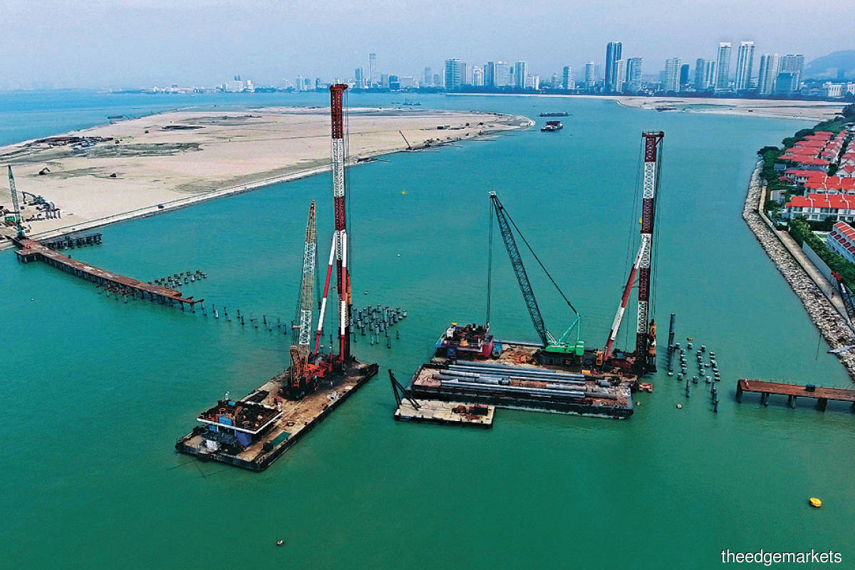 The STP 2 Marine Link Bridge. E&O is scheduled to launch its maiden development for the  STP 2A project in 1Q2022. (Photo by kerjayagroup.com)