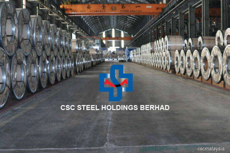 Higher raw material prices pull down CSC Steel's 3Q net profit