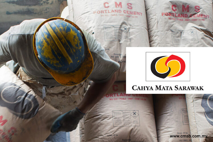 Cahya Mata Sarawak up 4.6% to highest level in 11 months