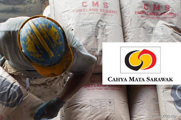 Cahya Mata Sarawak's cement, materials units seen to do better