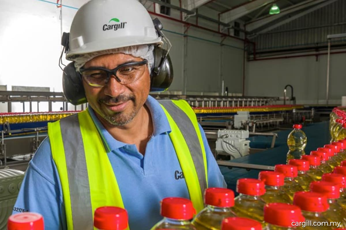 Cargill to invest RM81m to upgrade palm oil production facility in Port Klang