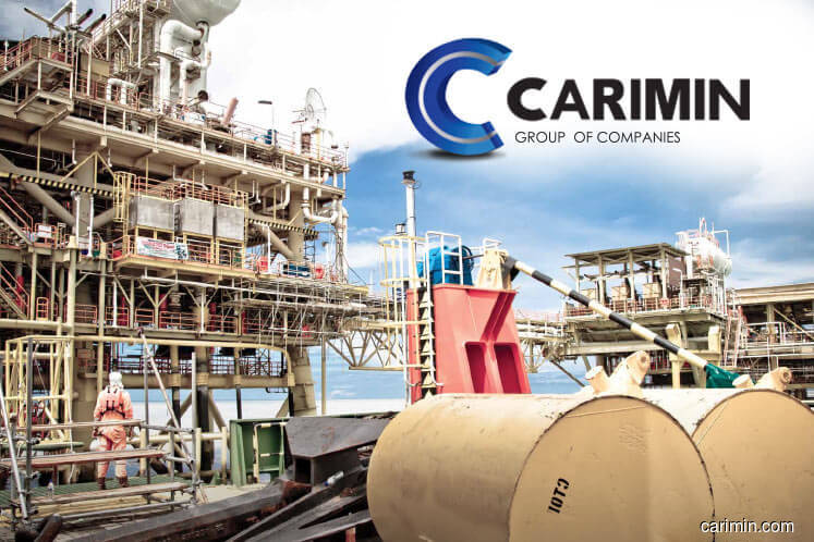 Carimin active, up 1.04% on positive technicals, dividend