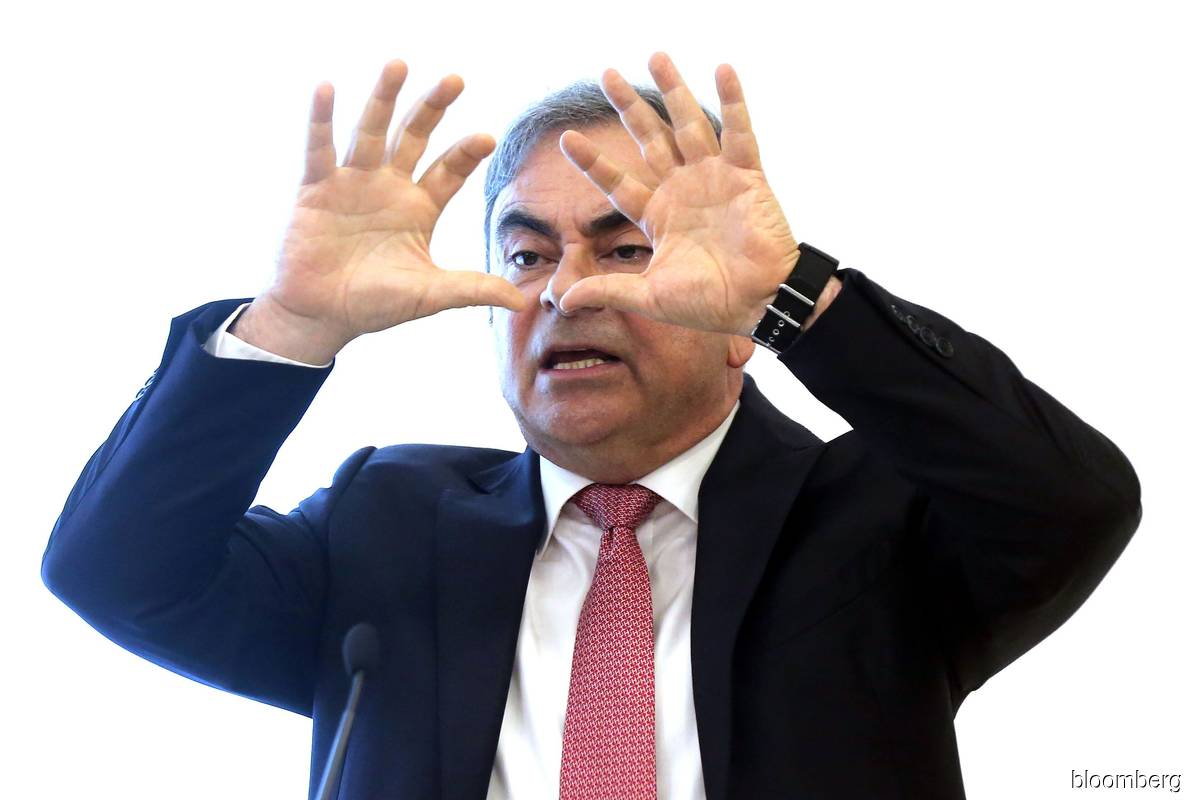 Ghosn. (Photo by Bloomberg)