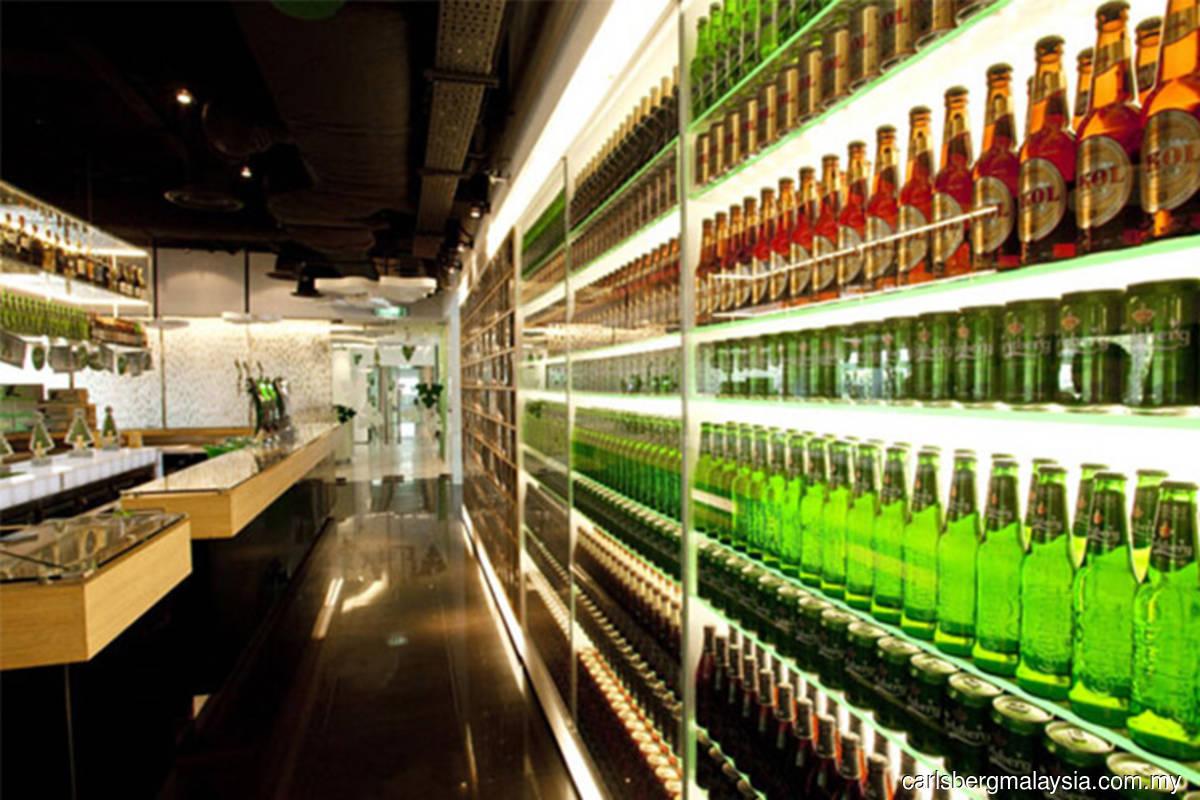 Carlsberg and Heineken rise, among top gainers on Bursa
