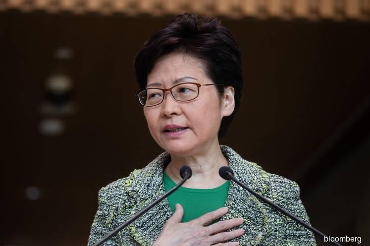 Hong Kong Legislature Suspended After Lam Speech Disrupted