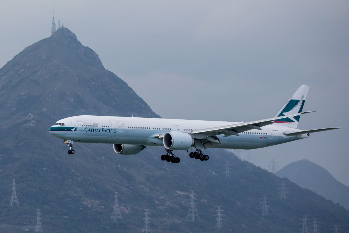 Cathay's most optimistic outlook is for half capacity in 2021