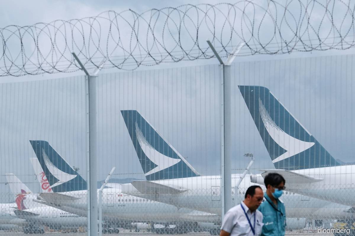 Cathay Pacific sees 2H loss 'significantly higher' than 1H