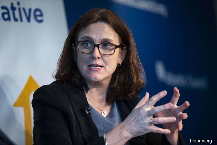 EU trade commissioner still hopes to talk U.S. out of new tariffs