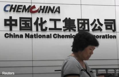 ChemChina makes US$43 bil agreed bid for Switzerland's Syngenta