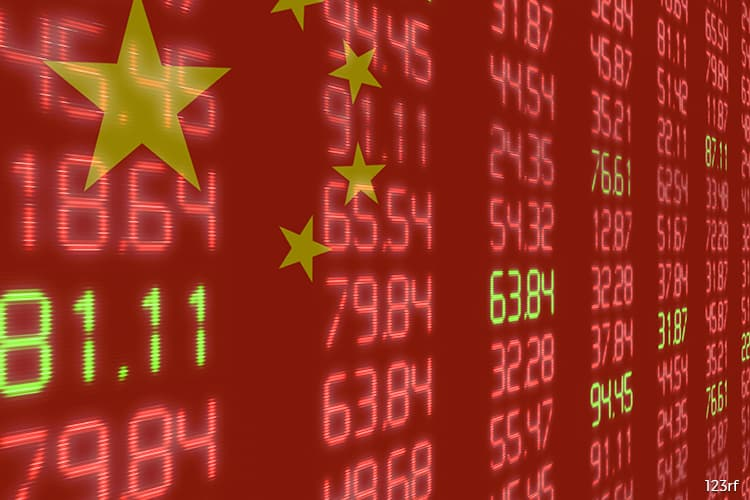 China stocks close at near 4-month lows on worries over trade, growth