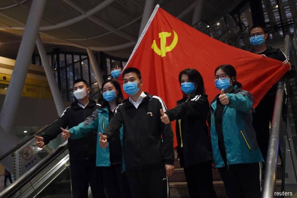 China passed 'extraordinary' virus test, says bullish Xi