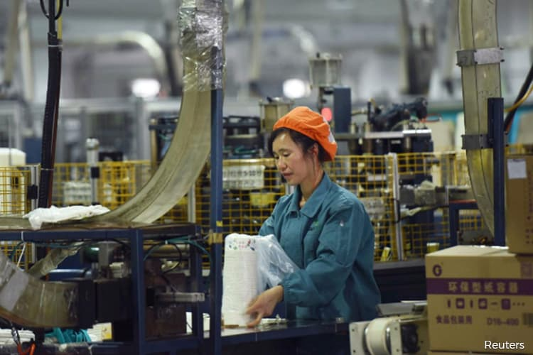 China's factory prices post steepest fall in 3 years