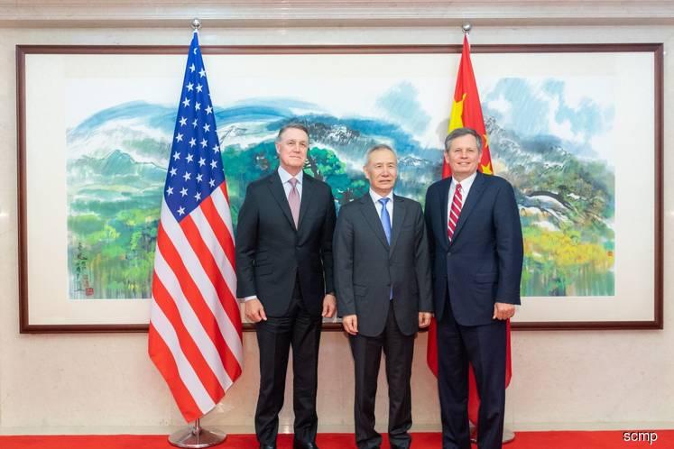 China's top negotiator Liu He urges US senators to 'deepen mutual understanding' to resolve trade war