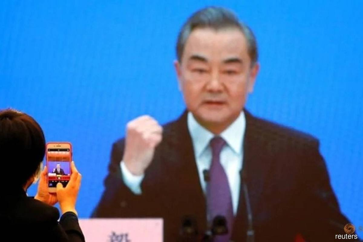 Chinese State Councilor and Foreign Minister Wang Yi  (Photo credit: Thomas Peter/Reuters filepix)