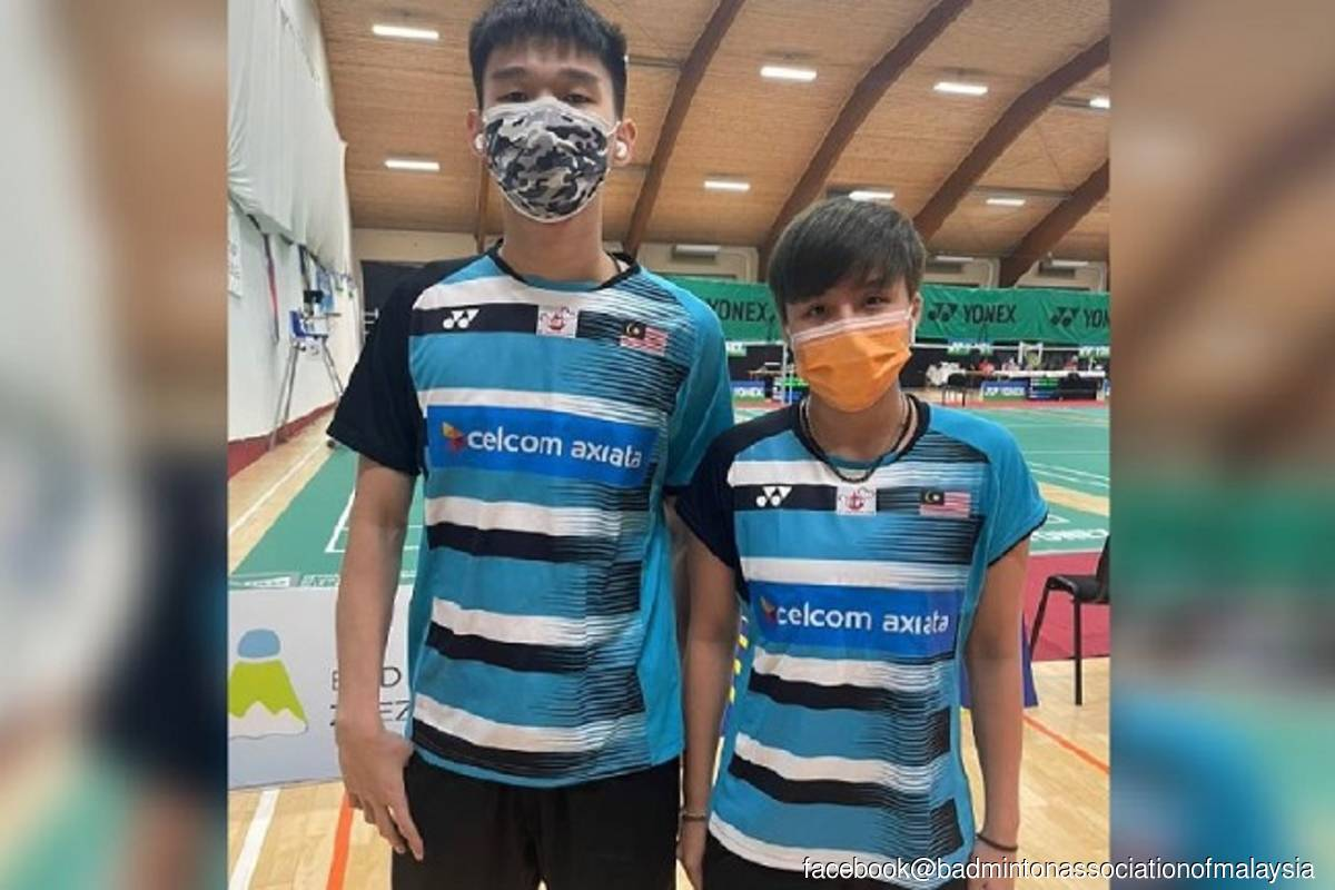 Three cheers for Hon Jian and Ee Eei as they clinch Austrian open title