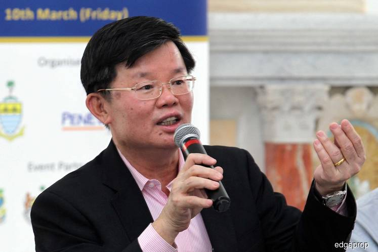 About 1,800 on waiting list for public housing in Penang, says Penang CM