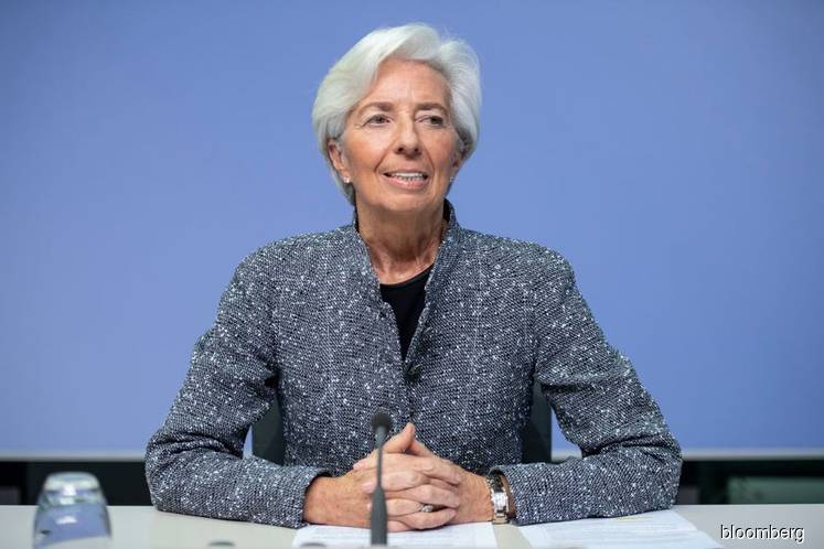 Euro-area economy closer to ECB's worst-case estimates, Lagarde says