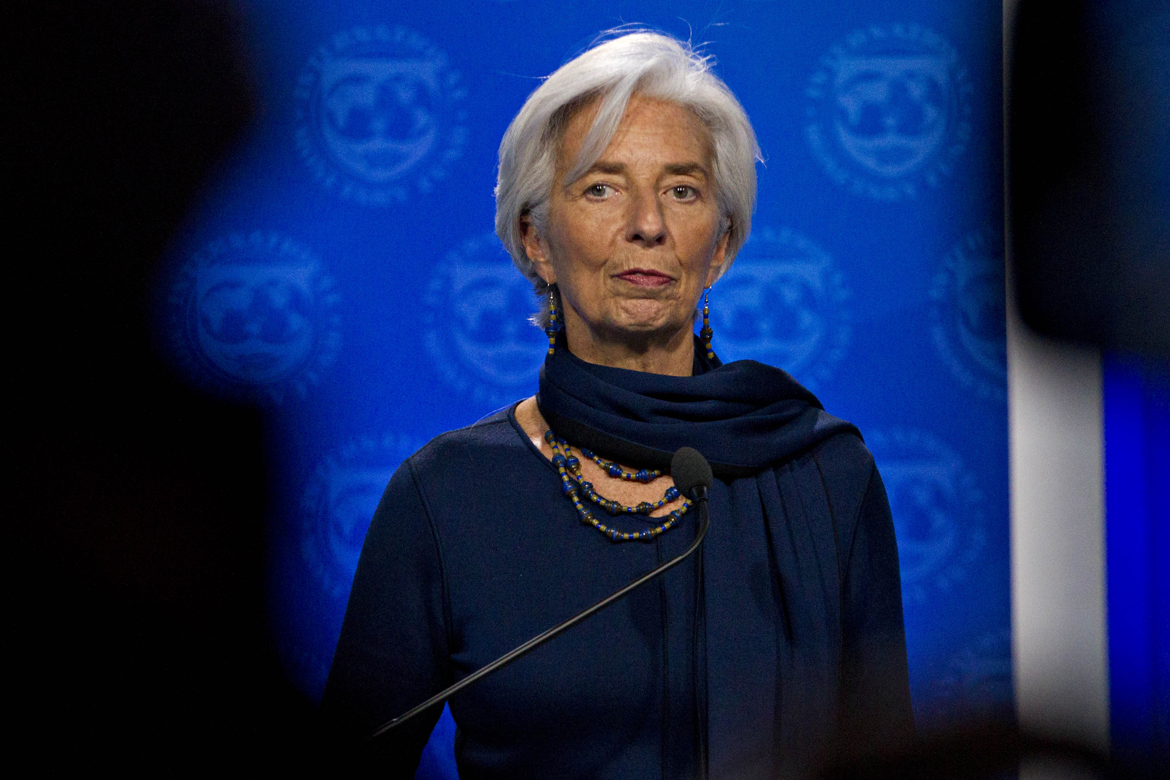 Nobody wins in a trade war, says IMF chief