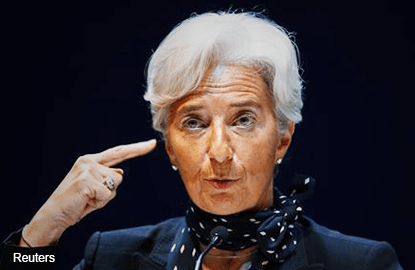 IMF's Lagarde sees weaker-than-expected global economic growth