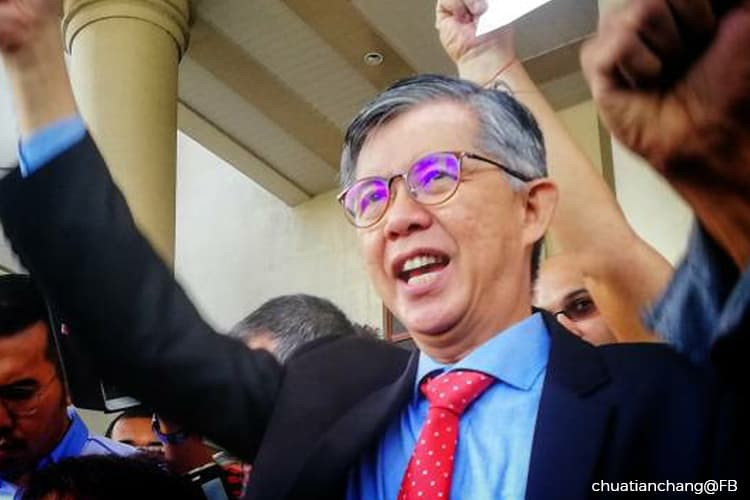 Tian Chua now eligible to contest in elections, be appointed a senator