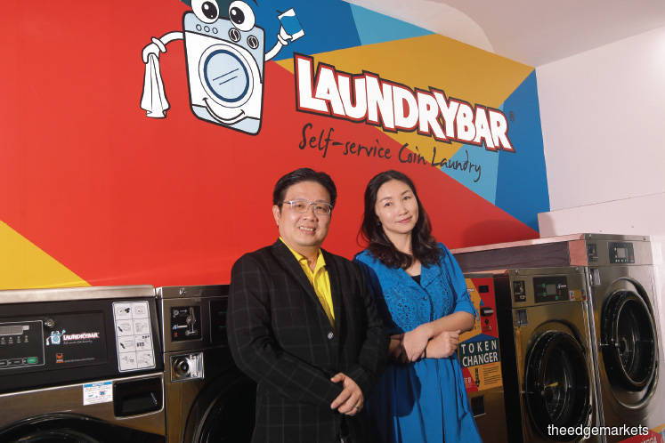 Ang and his wife, City Coin Laundry executive director Sandra Chua