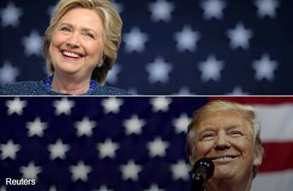 Clinton win to remove 'Trump presidential risk premium' - AmBank